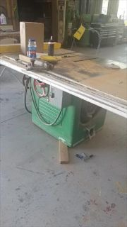 Rockwell Manufacturing Table Saw For Sale