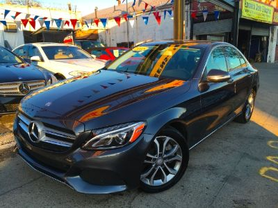 2015 Mercedes-Benz C-Class 4dr Sdn C300 RWD (Steel Gray Metallic)