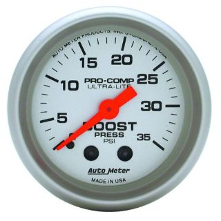 "Purchase Auto Meter 4304 2"" Boost Gauge, 0-35psi. Mechanical motorcycle in Decatur, Georgia, United States, for US $73.97"
