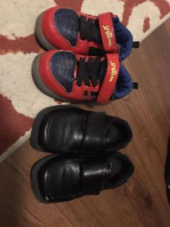 Size 7 toddler boy shoes
