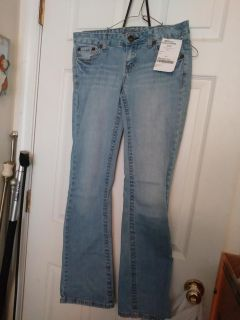 Teen jeans size 7