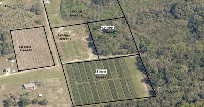 U-Pick Farm. 30.7 acres – 5 Parcels