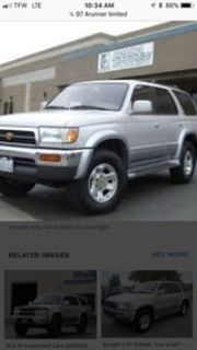 97 Toyota 4Runner Limited 4X4 v6