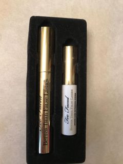 Too faced better than false lashes mascara and nylon lash extension system