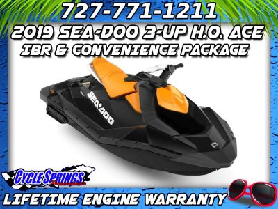 2019 Sea-Doo Spark 3up 900 H.O. ACE iBR + Convenience Package 3 Person Watercraft Clearwater, FL