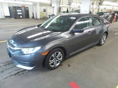 2017 Honda CIVIC SEDAN LX CVT (Gray)