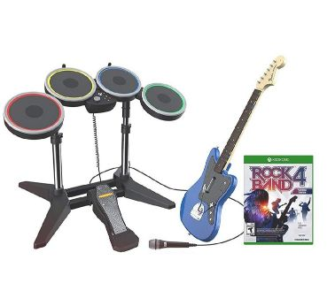 rock band 4 rivals complete band set