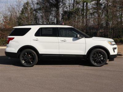 2019 Ford Explorer XLT FWD (White)