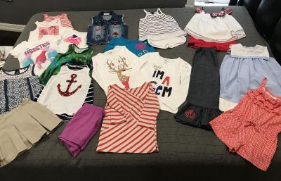 Girls clothes 5-7