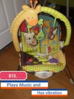 Fisher price Bouncer with features