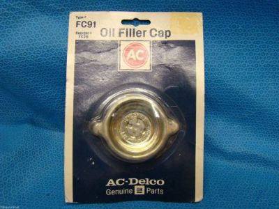 Find Delco FC-91 Oil Cap 25060046 Camaro Firebird Corvette 305 350 V8 USA FC2 NOS USA motorcycle in Vinton, Virginia, United States, for US $35.99