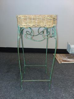 RUSTIC WROUGHT IRON stand