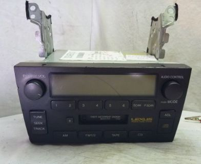 Sell 98-03 Lexus GS300 GS400 Premium Radio Cassette Player 86120-3A520 CF0482 motorcycle in Williamson, Georgia, United States, for US $130.00