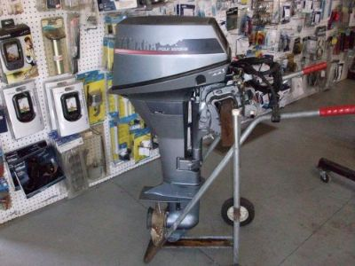 Sell 1991 9.9 HP YAMAHA OUTBOARD 4-STROKE LONG SHAFT REMOTE WITH CONTROLS motorcycle in Eagle, Michigan, United States, for US $900.00