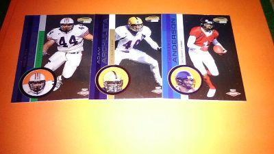 (3) Rare Football Cards ROOKIE
