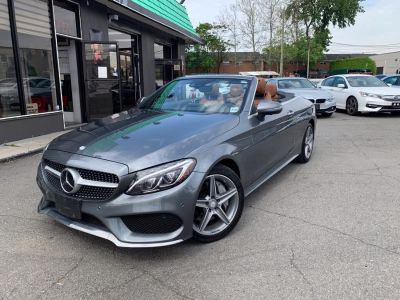 2017 Mercedes-Benz C-Class C 300 4MATIC Cabriolet (Iridium Silver Metallic)
