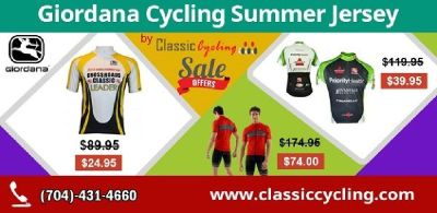 Huge Discount on Giordana Summer Jersey for Men - Classic Cycling