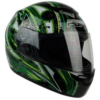 Sell S M L XL XXL ~ PGR AR01 ARPIA Black Green DOT Motorcycle Full Face Helmet Street motorcycle in Chino, California, US, for US $5.60