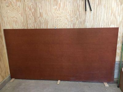 Hardy board  pre-stain siding