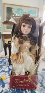 Cathay collection porcelain doll