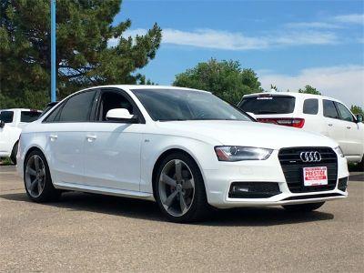 2015 Audi A4 2.0T quattro Premium Plus (Ibis white)