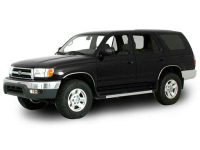 2000 Toyota 4Runner Limited (Millennium Silver Metallic)