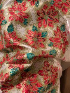 Christmas fabric roll