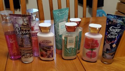 Bath and body lot used