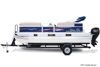 2018 Sun Tracker Party Barge 18 DLX Pontoon Boats Boats Gaylord, MI