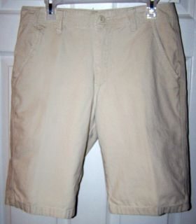 Size 31 - Men's Khaki Shorts by Plugg Can be worn for school uniform.