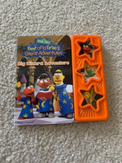 Bert and Ernie sound book