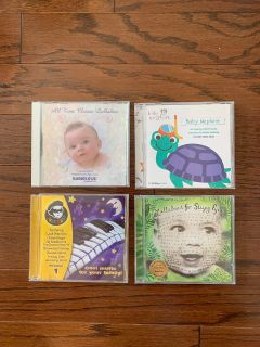 4 baby/lullaby CD s