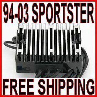 Buy BLACK 32 AMP VOLTAGE REGULATOR 1994-2003 HARLEY SPORTSTER XL 883 1200 HUGGER motorcycle in Zieglerville, Pennsylvania, US, for US $63.90
