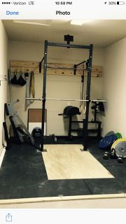 Crossfit Rig/Gear - will need to pickup.