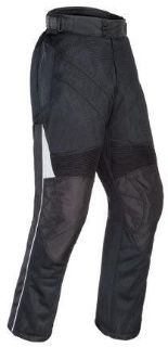 Purchase Tourmaster Venture Air Black Medium Tall Textile Mesh Motorcycle Pants Med Md motorcycle in Ashton, Illinois, US, for US $166.49