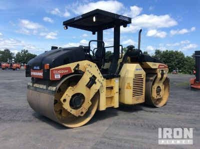 2008 Dynapac CC422VHF Vibratory Double Drum Roller