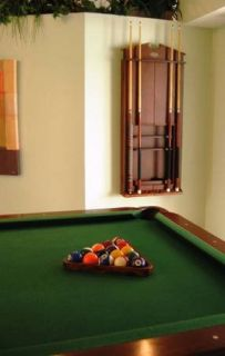 Pool Table with Cue Rack & Dart Board Set
