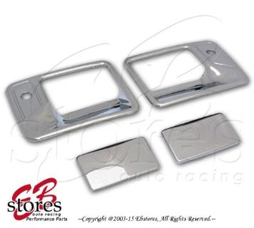 Buy Chrome Door Handle Cover Ford F-250-F-550 Super Duty 97-03 (2 Door w/ 2 Keyhole) motorcycle in La Puente, California, United States