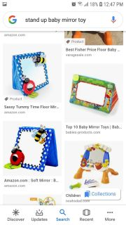 ISO: baby mirror toy