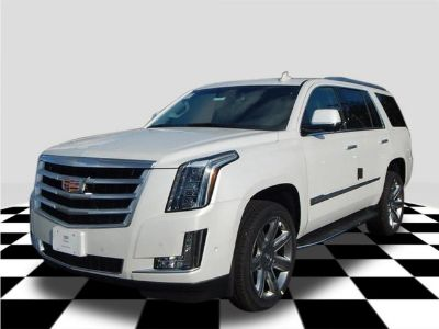 2019 Cadillac Escalade Premium (Crystal White Tricoat)