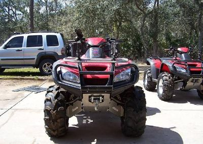 $2,500, Two ATVs 2006 Honda Rincon with Trailer