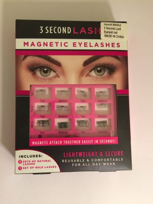 3 Second Lash Magnetic Natural Eyelashes In Black