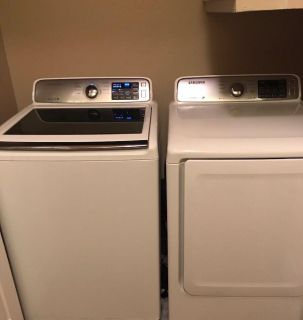 Barely Used Washer and Dryer Set