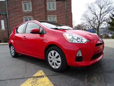 2012 Toyota Prius c One (Absolutely Red)