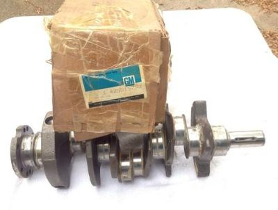Purchase NOS 1985-91 3.0 V6 Crankshaft Buick Pontiac Oldsmobile GM# 25519733 New In Box motorcycle in Dallas, Texas, US, for US $49.99