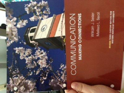$30 OBO Communication Making Connections (WKU revised edition)