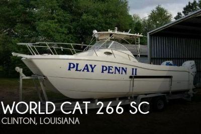 1998 World Cat 266 SC