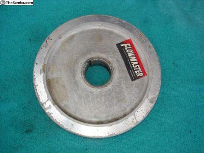 """Aluminum 6 3/4"""" crank pulley"""