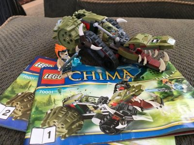 Lego Chima Set 70001 Crawley Claw Ripper