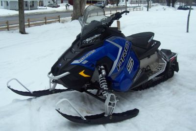 2018 Polaris 600 RUSH PRO-S ES Trail Sport Snowmobiles Center Conway, NH